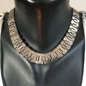 VTG 80's 90's Chunky Thick Chain Link Necklace